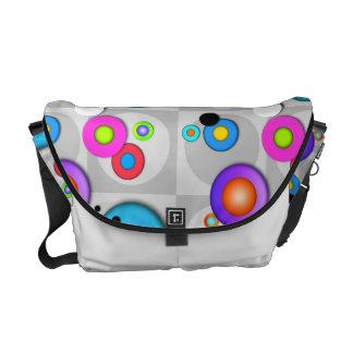 Pop Art CIRCLES MESSENGER BAG