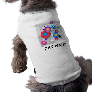 Pop Art CIRCLES Personalizable PET TEE
