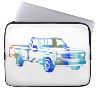 Pop Art Classic Car Laptop Sleeve