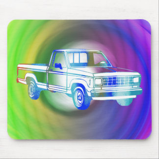Pop Art Classic Car Mouse Pad