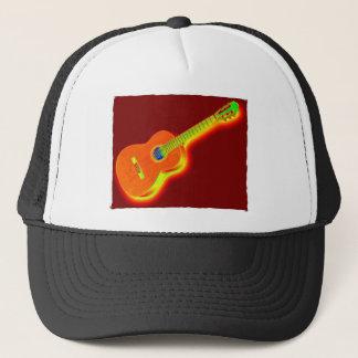 Pop Art Classical Guitar Trucker Hat