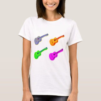 Pop Art Classical Spanish Guitar T-Shirt