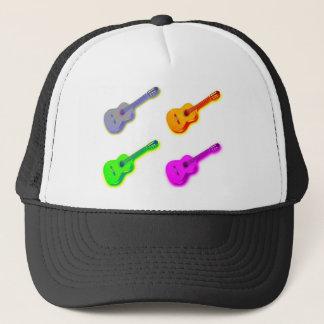 Pop Art Classical Spanish Guitar Trucker Hat