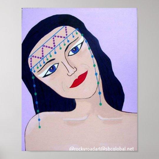 Pop Art Cleopatra Poster