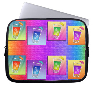Pop Art COCKTAILS LAPTOP SLEEVE CASE