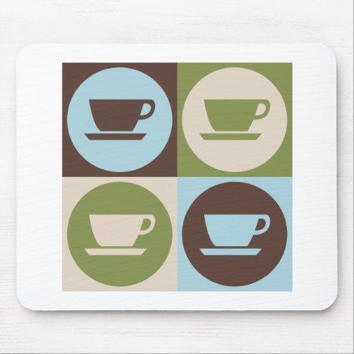 Pop Art Coffee Mouse Pad