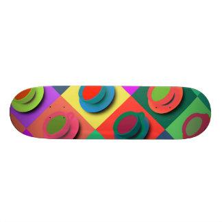 Pop-Art Coffee Mugs Skateboard Deck