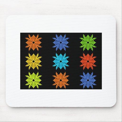 Pop Art Collage Fractal Art Mouse Pads