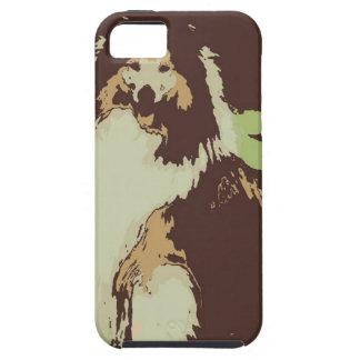 Pop Art Collie Dog iPhone SE/5/5s Case