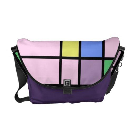 Pop Art Color Block Designer Bag