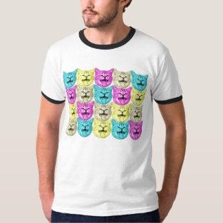 pop art color cat T-Shirt
