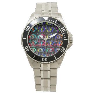 Pop Art Color Hamsas Watch