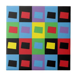 Pop Art Colorado Tile