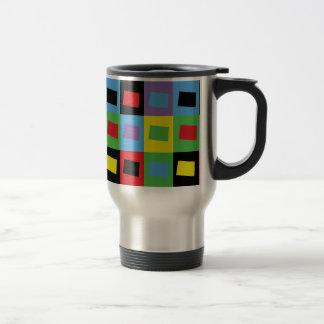 Pop Art Colorado Travel Mug