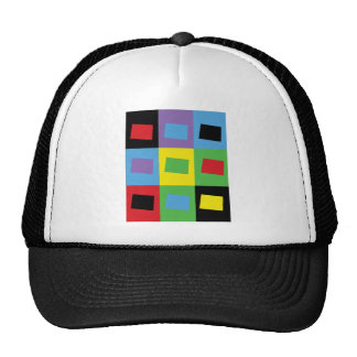 Pop Art Colorado Trucker Hat