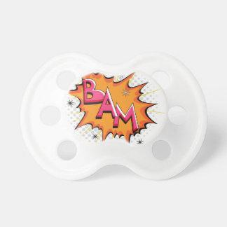 Pop Art Comic Bam! Pacifier