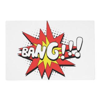 Pop Art Comic Bang! Placemat
