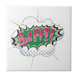 Pop Art Comic Biff! Tiles