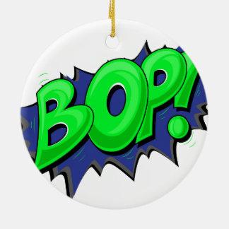 Pop Art Comic Bop! Ornament