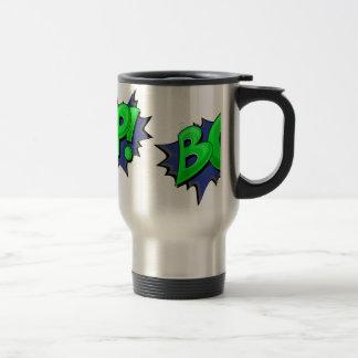 Pop Art Comic Bop! Travel Mug