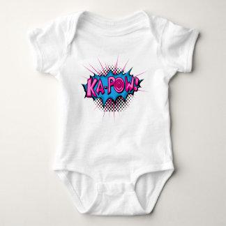 Pop Art Comic Ka-Pow! Baby Bodysuit