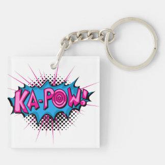 Pop Art Comic Ka-Pow! Key Chains