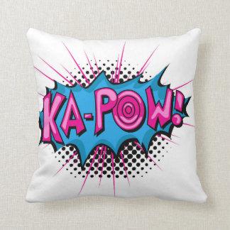 Pop Art Comic Ka-Pow! Pillows