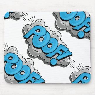 Pop Art Comic Poof! Mouse Pad