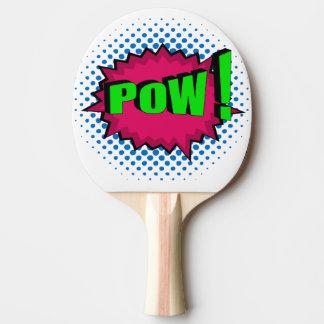 Pop Art Comic Pow! Ping-Pong Paddle