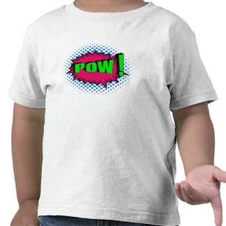 Pop Art Comic Pow! T Shirts