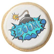 Pop Art Comic Style Bomb Boom!
