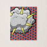 Pop Art Comic Style Explosion Puzzle