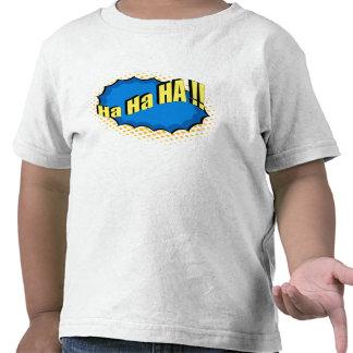 Pop Art Comic Style Ha Ha Ha! T-shirts