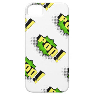 Pop Art Comic Style Pop! iPhone SE/5/5s Case