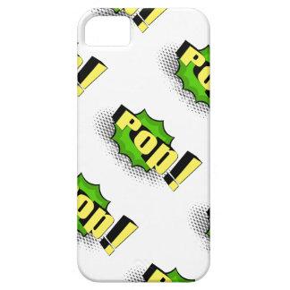 Pop Art Comic Style Pop! iPhone SE/5/5s Case