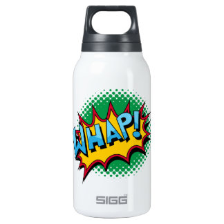 Pop Art Comic Style Whap! 10 Oz Insulated SIGG Thermos Water Bottle