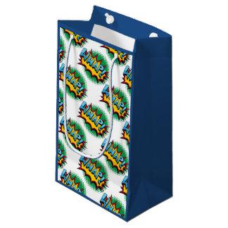 Pop Art Comic Style Whap! Small Gift Bag