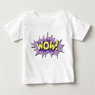 Pop Art Comic Style Wow Baby T-Shirt
