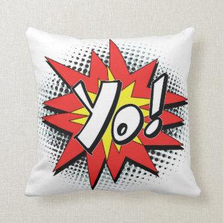 Pop Art Comic Yo! Pillow