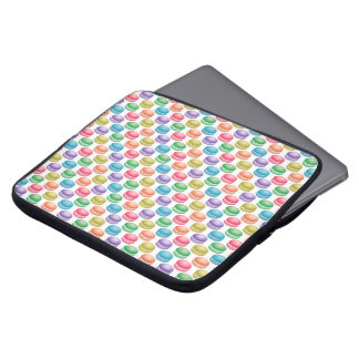 Pop Art Cookies Colorful Macarons Computer Sleeve