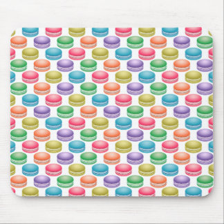 Pop Art Cookies Colorful Macarons Mouse Pad