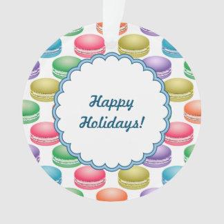 Pop Art Cookies Colorful Macarons Ornament
