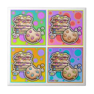 Pop Art Cookies Tile
