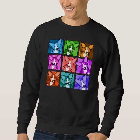 Pop Art Corgi Sweatshirt