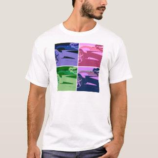 Pop Art Corvettes T-Shirt