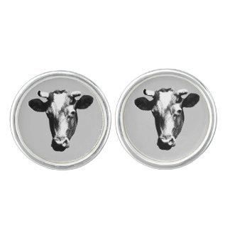 Pop Art Cow Cufflinks