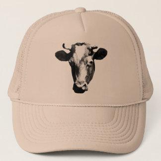 Pop Art Cow Trucker Hat
