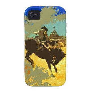 Pop Art Cowboy iPhone 4 Case-mate Tough