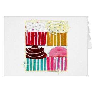 Pop Art Cupcakes Card