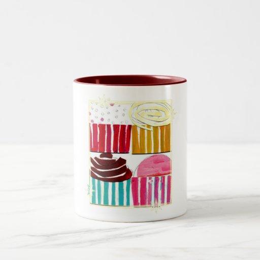 Pop Art Cupcakes Mugs